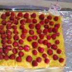 Tartelettes financières au citron et aux framboises