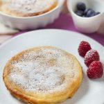 Gâteau de semoule à la vanille
