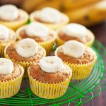 Muffins bananes et noix