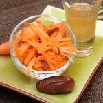 Salade de carottes orientale