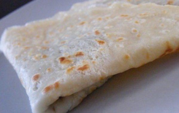 Pâte à crêpe à l'eau gazeuse