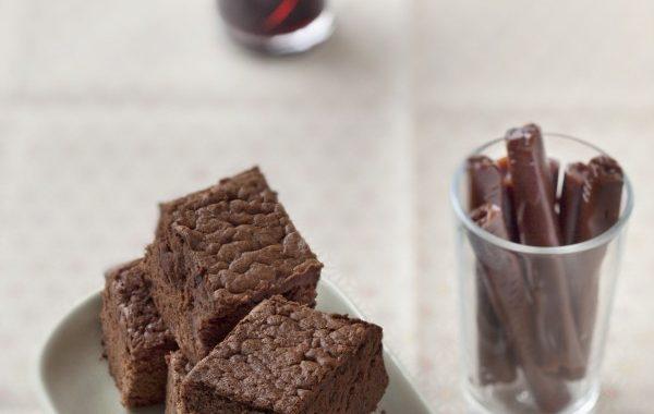 Gâteau carambar et chocolat