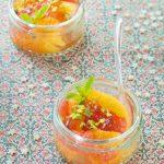 Salade d'agrumes à la gelée d'earl grey (13ème rencontre Marmiton)
