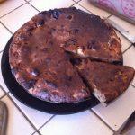Pudding pomme et chocolat