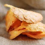 Tuiles aux amandes et à l'orange