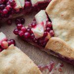 Tourte Cranberries – Pommes