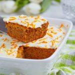 Cake à la carotte et aux noix