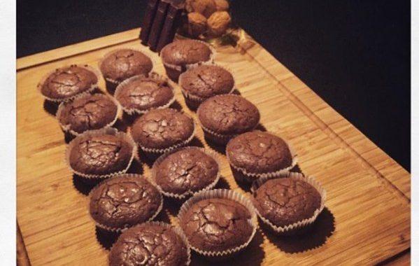 Browfins (entre brownies et muffins)