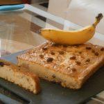 Gâteaux au yaourt, banane et raisin
