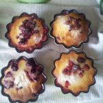 Gâteau de semoule à la framboise