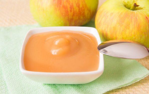 Compote de pommes au citron (micro-ondes)