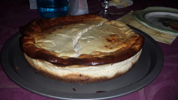 Cheesecake à la cannelle