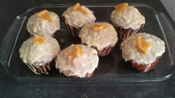 Gâteau glacé à l'orange