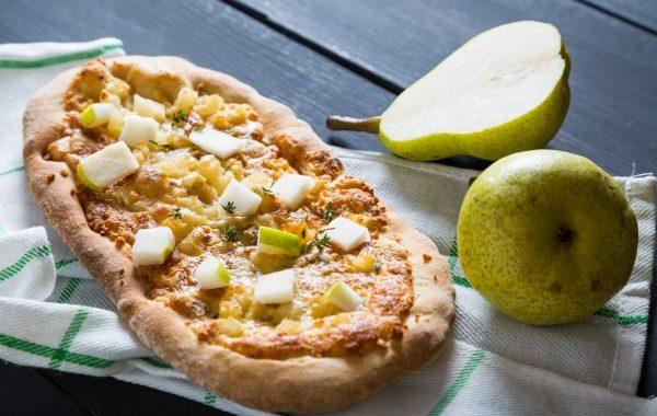 Pizza aux poires