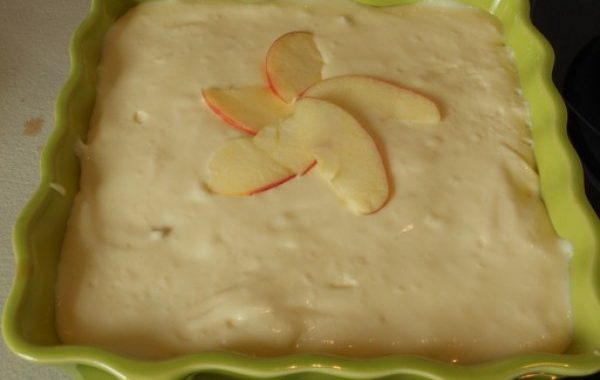 Tiramisu aux pommes, spéculoos et thé