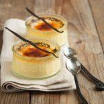 Crème brûlée à la vanille et à la lavande
