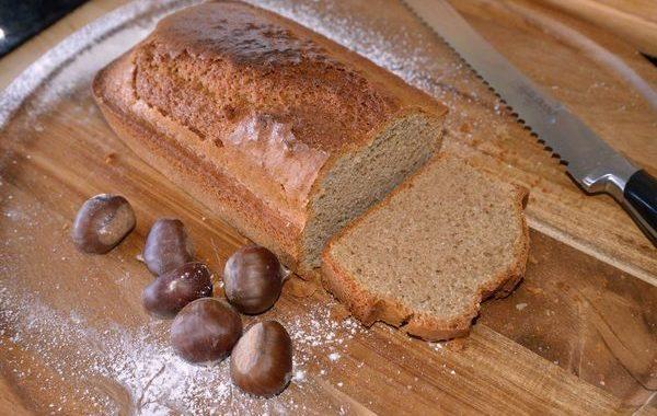 Cake simple à la farine de châtaigne