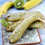 Bananes givrées aux kiwis