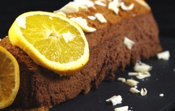 Terrine de pain d'épices au chocolat et à l'orange