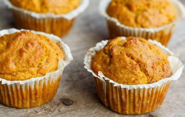Petits muffins citrouille-châtaignes