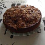 Gâteau pomme-cannelle-amandes
