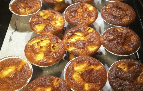 Muffin pomme et chocolat riz soufflé