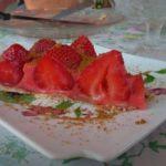 Tarte aux fraise sur crème de Tagada