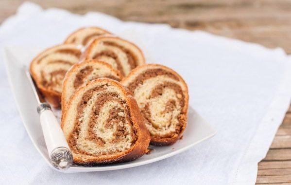 Gâteau roulé aux noix