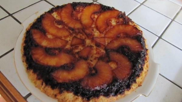 Gâteau sablé à l'ananas