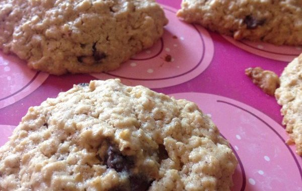 Cookies d'avoines et canneberges