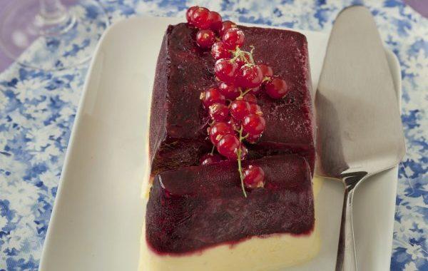 Parfait aux fruits rouges
