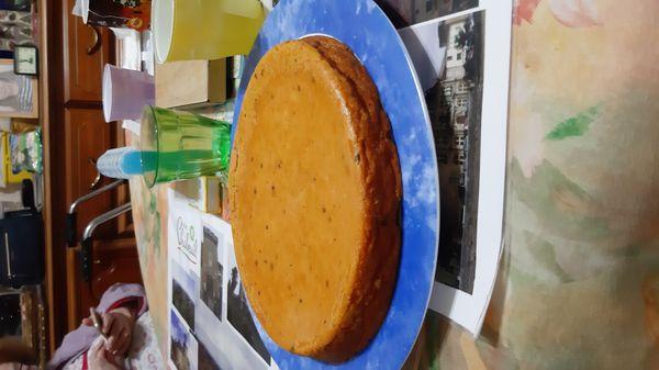 Gâteau de courge sucrée aux Petits Beurre