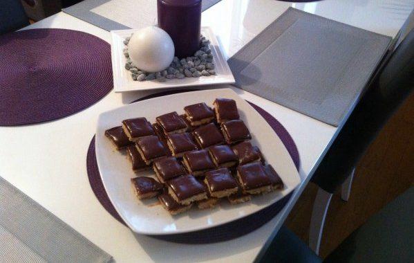 Shortbread chocolat caramel au beurre salé