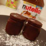 Petits pots de mousse aux deux chocolats