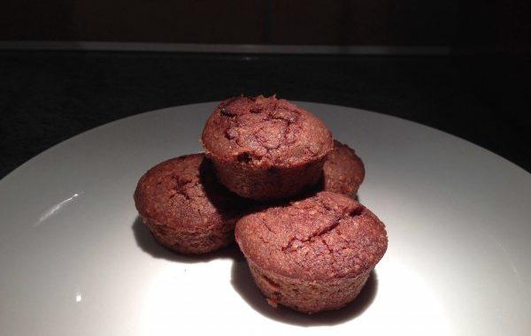 Muffins choco-caramel, beurre salé
