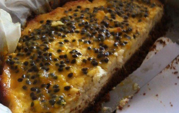 Cheesecake banane passion