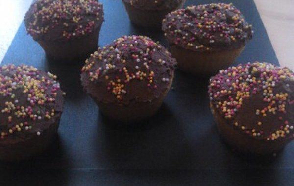 Cupcake coco-coeur Nutella