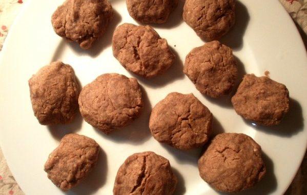 Biscuits à la réglisse (micro-ondes)