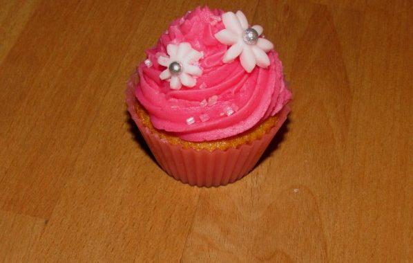 Cupcakes Framboise / Violette