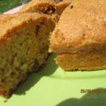 Gâteau aux noix et au citron