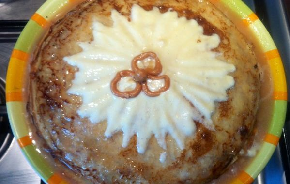 Gâteau de crêpes mascarpone-caramel beurre salé