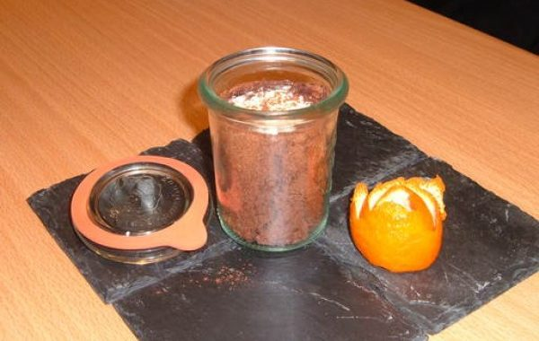 Bûche au chocolat Bio en bocal de Clém