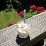 Glace au yaourt nature rapide et facile
