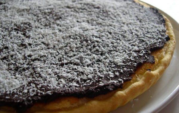 Tarte Caraïbes noix de coco chocolat noir