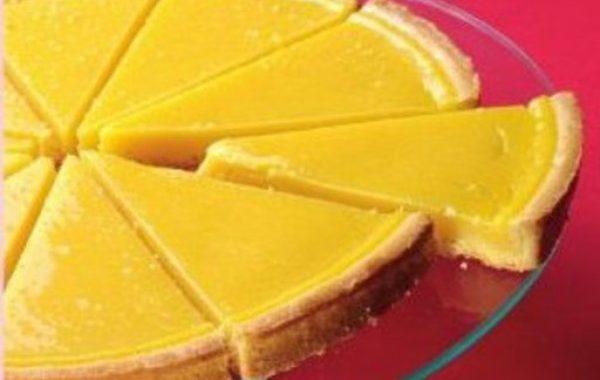 Tarte aux citrons maison, pâte à tarte au sésame