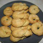 Biscuits grecs à l'ouzo
