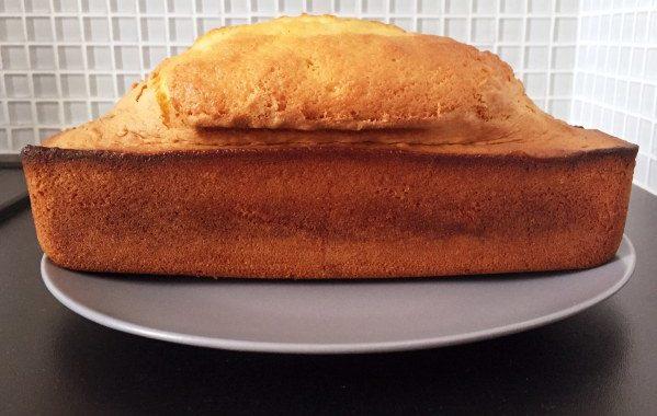 Gâteau au rhum et à la fleur d'oranger