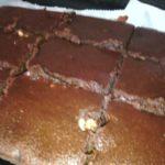Brownies light au chocolat noix et potimarron