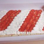Gâteau aux fraises revisité