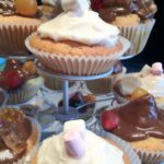 Cupcakes chamallows